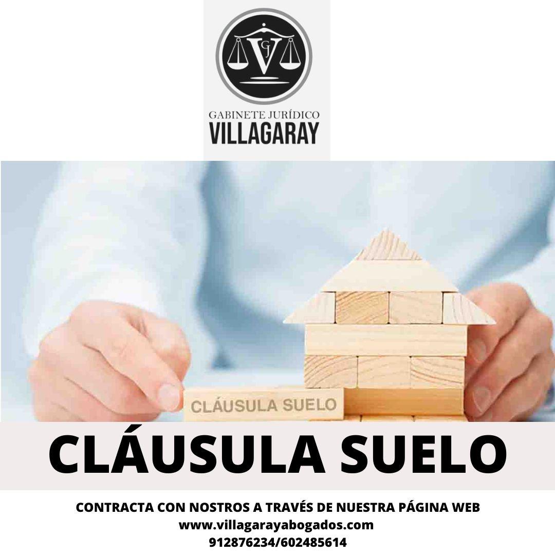 Contactar abogado experto cláusula suelo Madrid