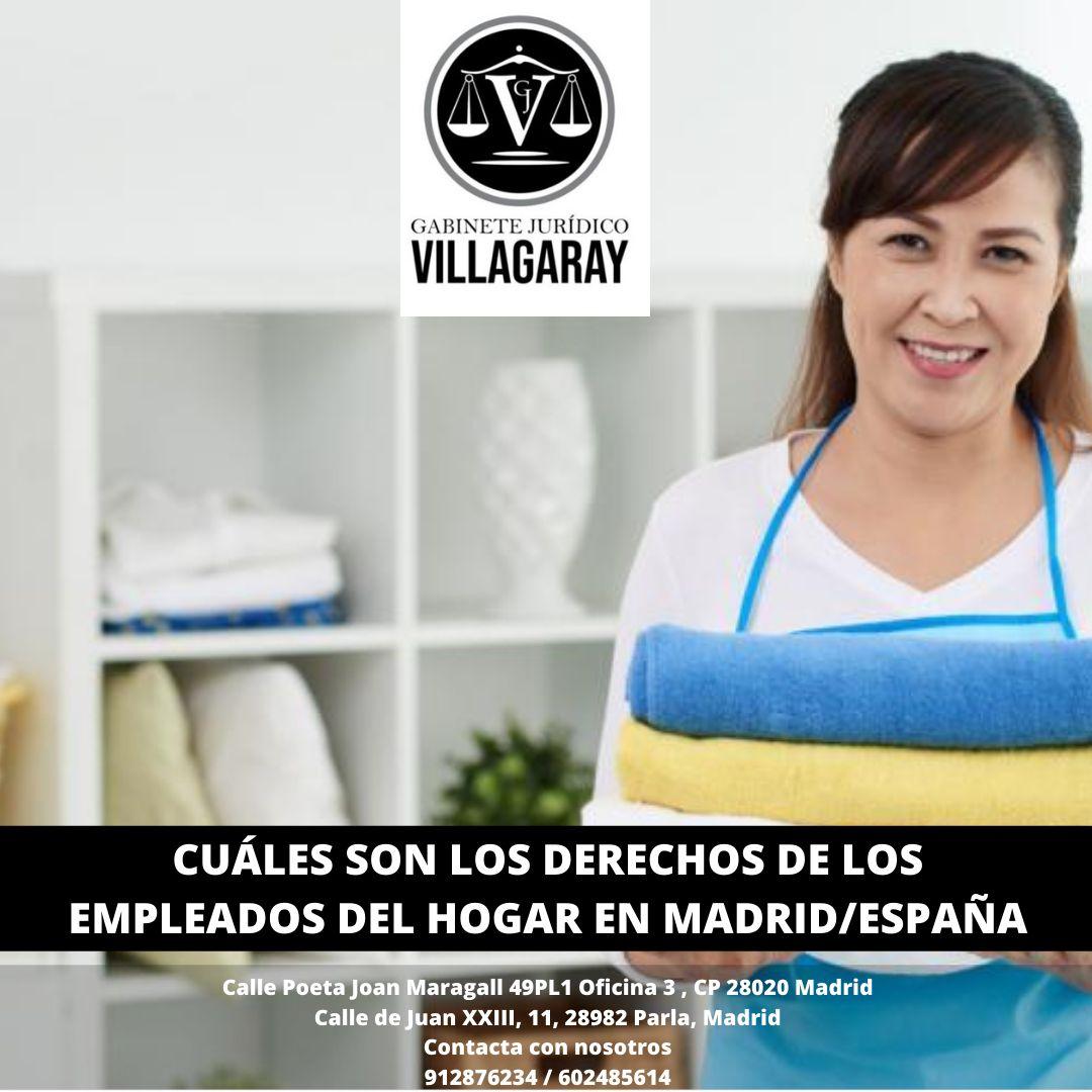 CUÁLES SON LOS DERECHOS DE LOS EMPLEADOS DEL HOGAR EN MADRID/ESPAÑA