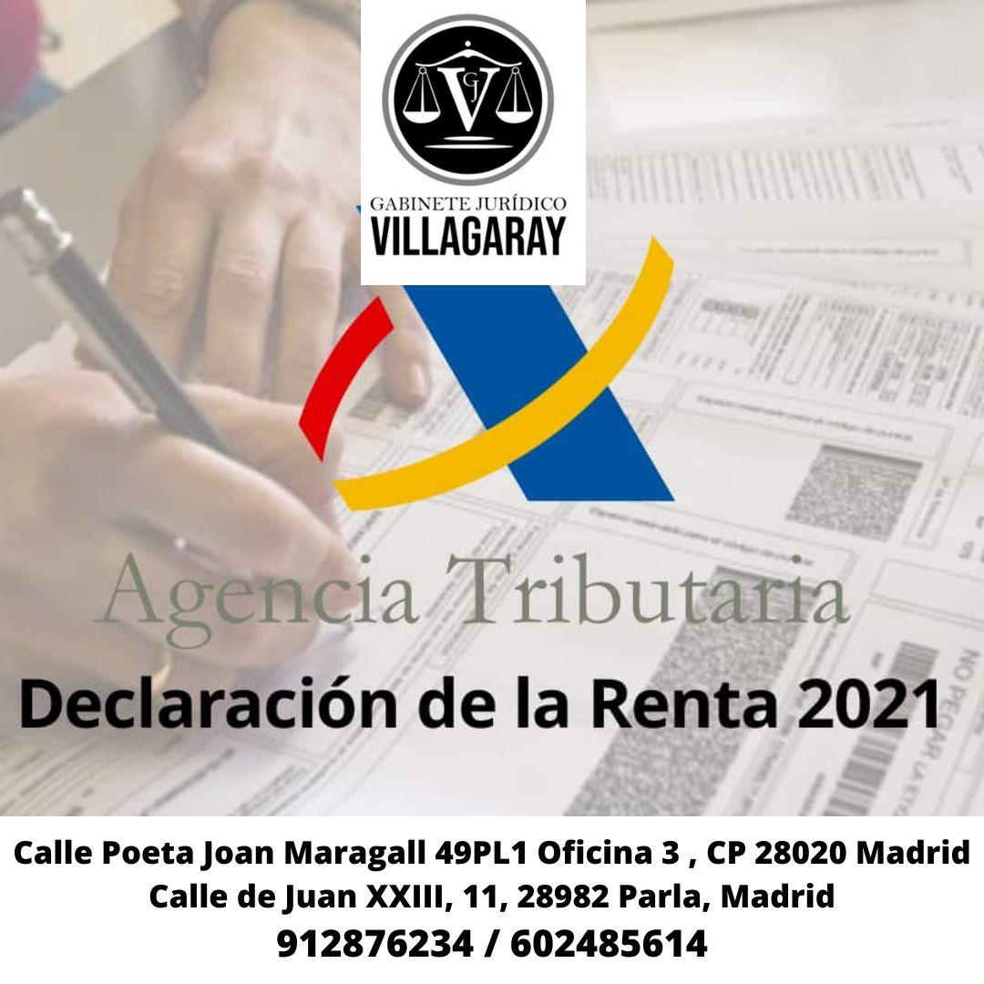 DECLARACIÓN DE LA RENTA EN MADRID/ESPAÑA