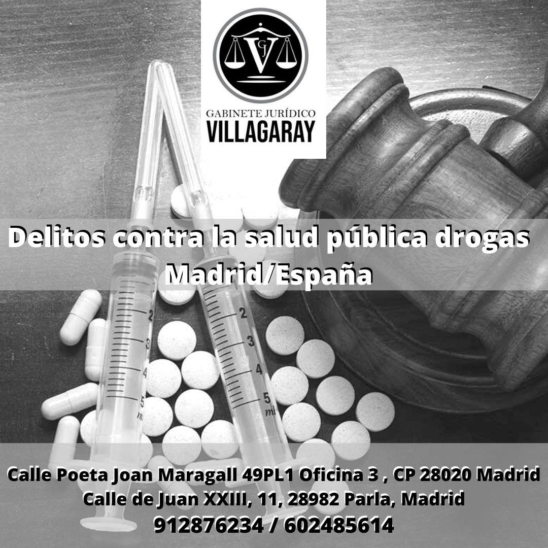 Delitos contra la salud pública drogas Madrid/España