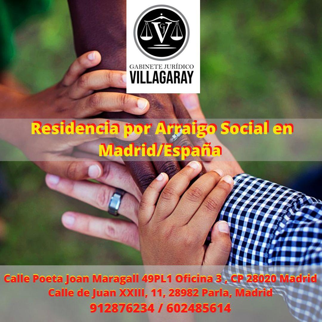 Residencia por Arraigo Social en Madrid/España