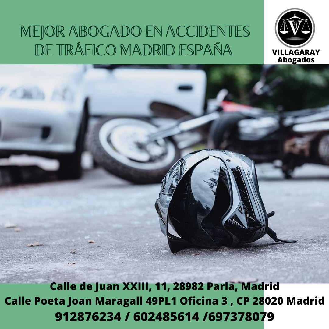 MEJOR ABOGADO EN ACCIDENTES DE TRÁFICO MADRID ESPAÑA
