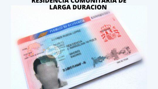 VISADO RECUPERACIÓN DE LA TITULARIDAD DE LA AUTORIZACIÓN DE UNA RESIDENCIA COMUNITARIA DE LARGA DURACION